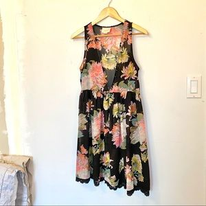 MAEVE Floral Tunic Dress